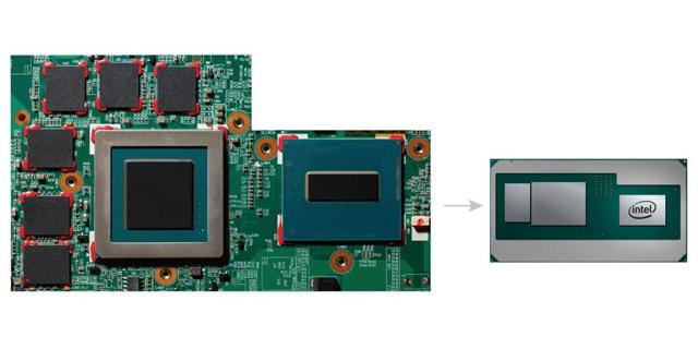 Intel 8th Gen CPU with Custom Discrete Graphics from AMD