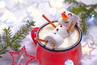 Hot Chocolate Snowman Image
