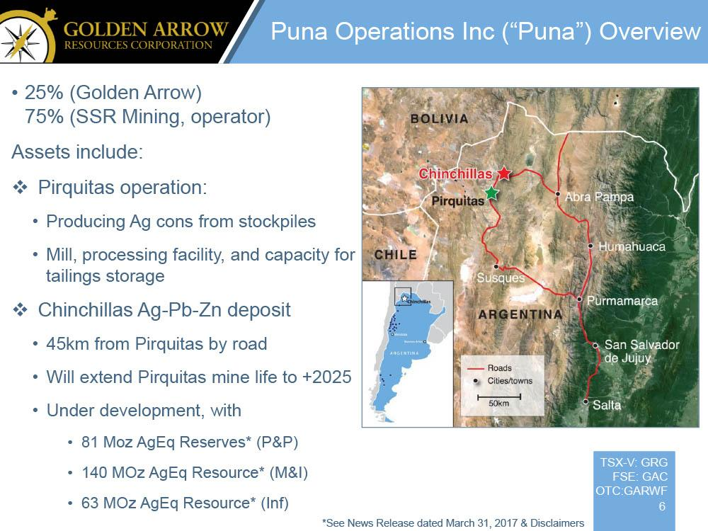 Golden Arrow Resources: A Buying Opportunity At Current Prices