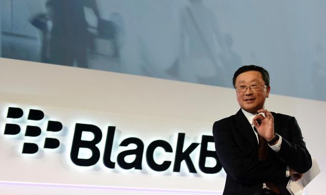 BlackBerry Is Betwixt And Between