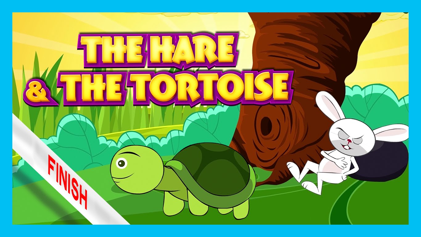 Short story for kids: The Hare and the Tortoise