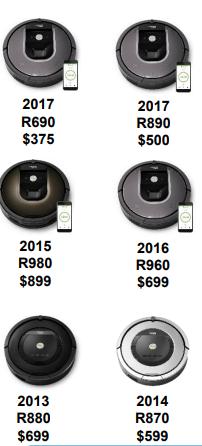 Newer Roomba Models