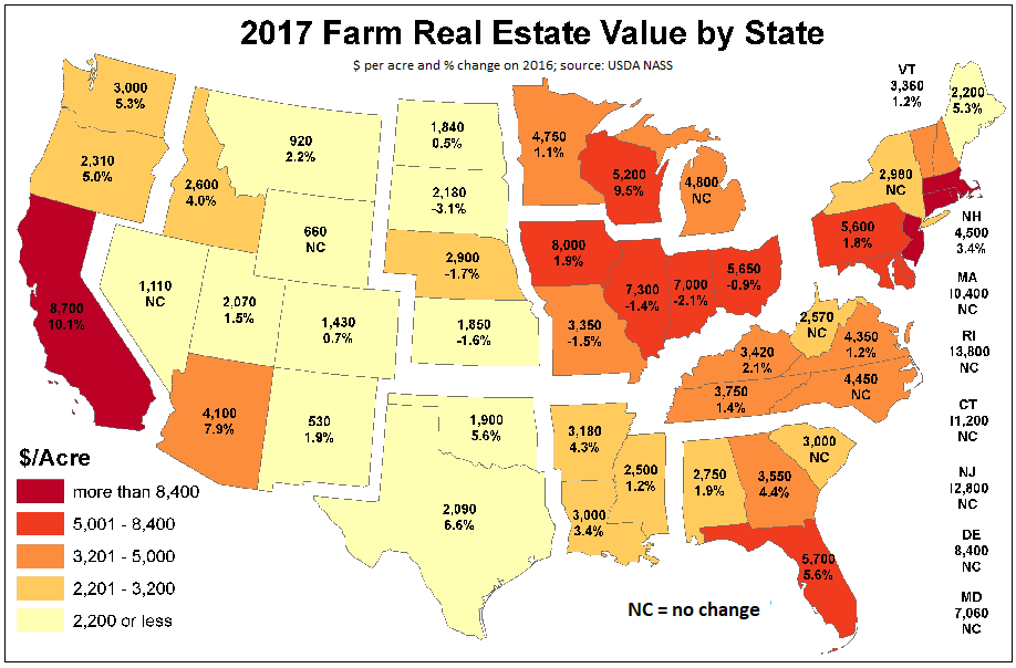 US Agriculture In Seeking Alpha - Map of us agriculture