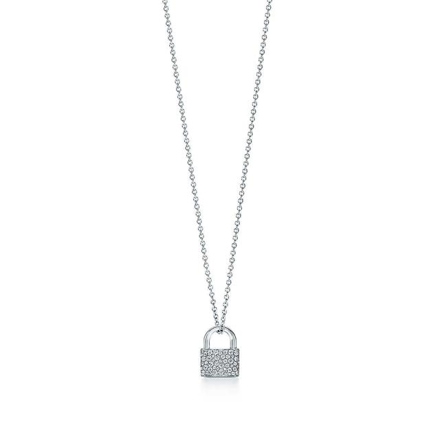 Tiffany Lock Pendant; www.tiffany.com
