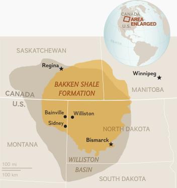 Bildresultat för the bakken oil field