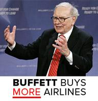 buffett buys more airlines