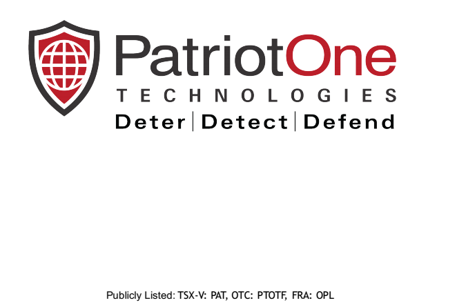 Patriot One Technologies - Working Relationship With Former