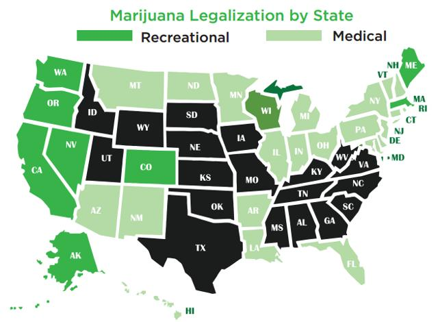the potential benefits of marijuana if completely legalized in the united states United states (español) - es  no doubt there's a lot of buzz surrounding the potential benefits of medical marijuana  though some states have legalized the use of marijuana for medical .