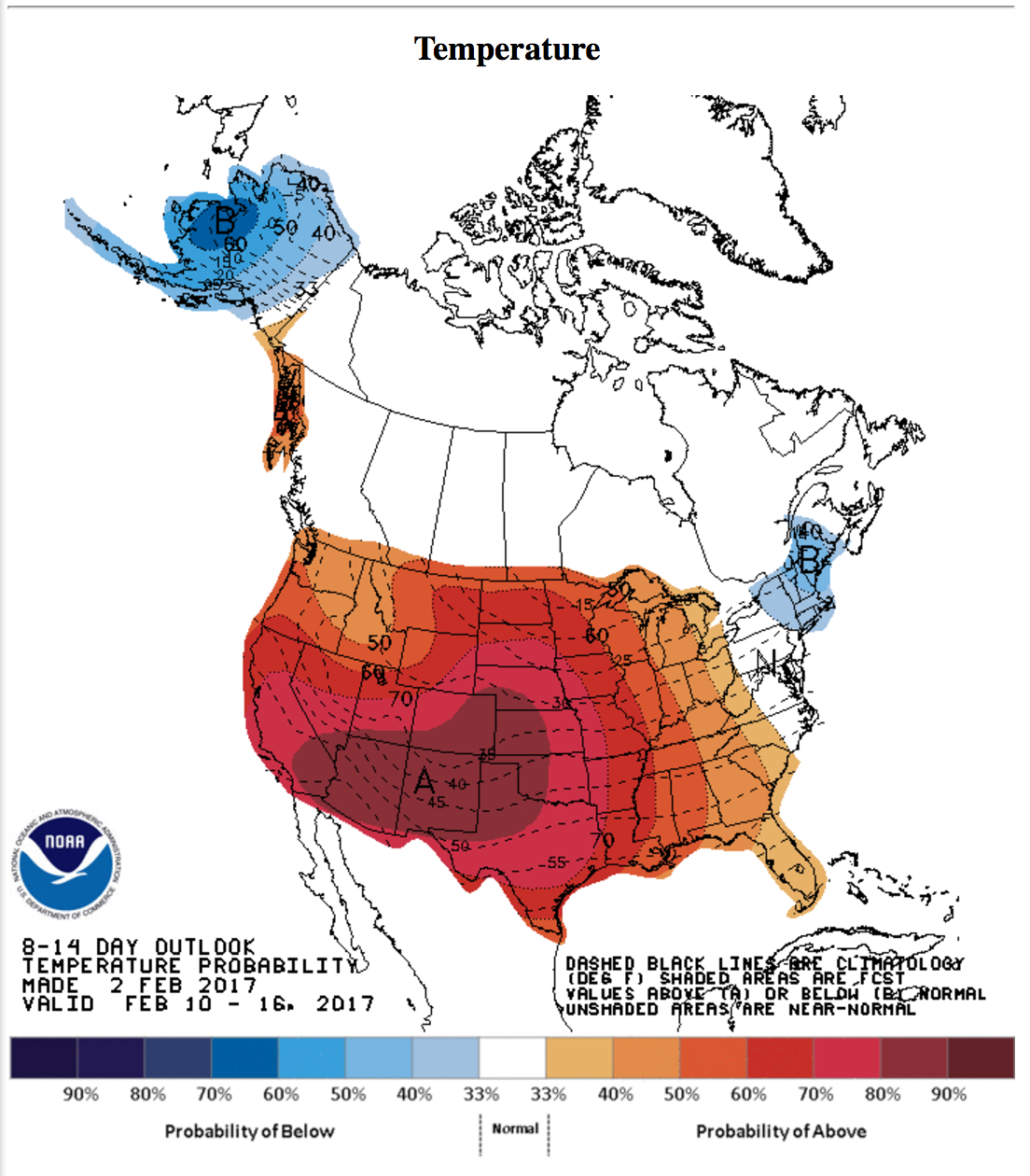 More Bad News For Natural Gas Bulls Natural Gas Daily Seeking - Us weather map weekend