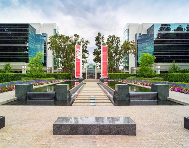 Nike Corporate Headquarters. Image Source: Nike