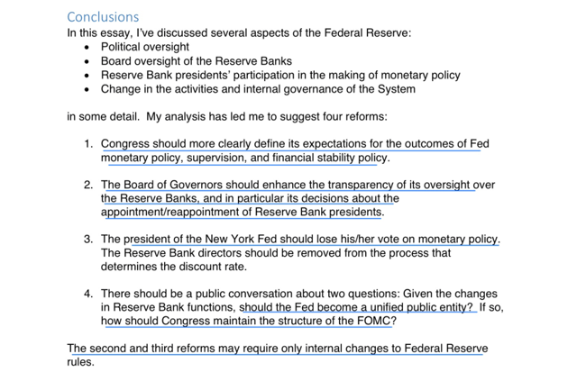 kocherlakota on how to reform the federal reserve system seeking  conclusion of the decentralized central bank a review essay on the power and independence