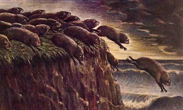 Should You Buy DryShips? - DryShips Inc. (NASDAQ:DRYS ... Obama Lemmings Jumping Off A Cliff