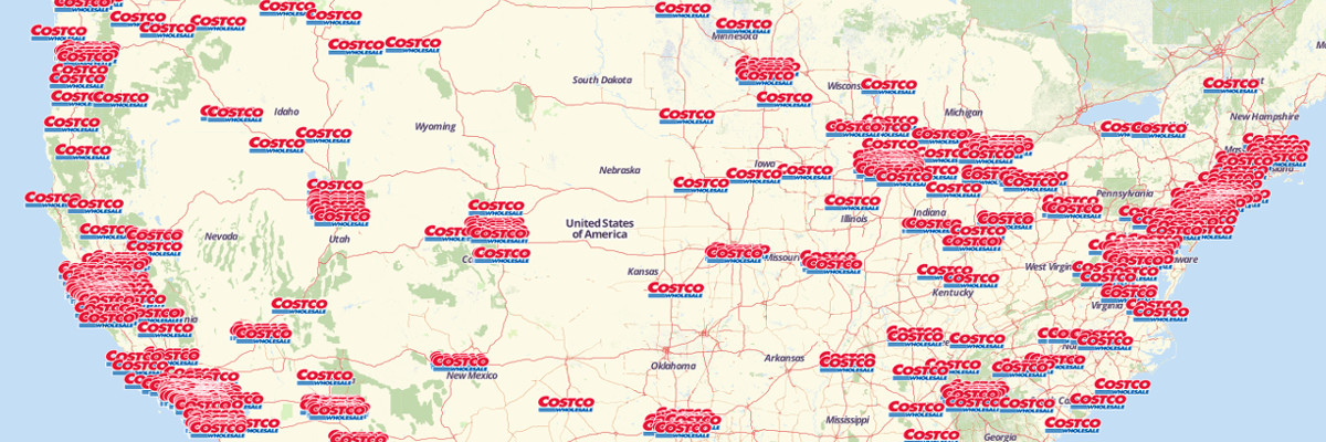 Reasons Why You Should Buy Costco Now Costco Wholesale - Map of costco in us