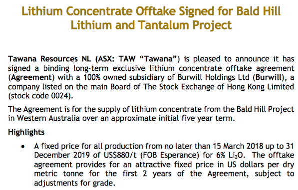Pilbara Minerals The Market Is Liking This Offtake Deal With