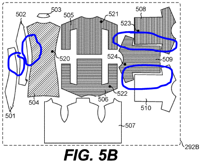 Amazon on-demand manufacturing patent (tight fit arrangment, minimize material wastage)