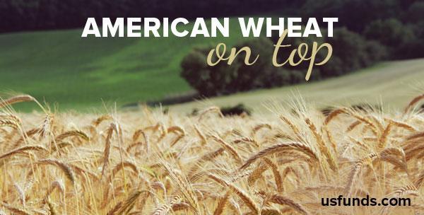 America wheat on top