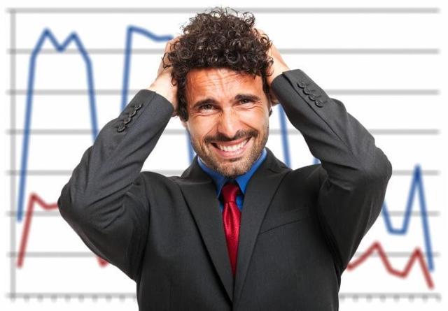 Image result for frustrated investor