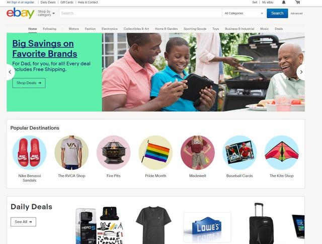 The eBay Strikes Back: Internet Icon Looks Compelling