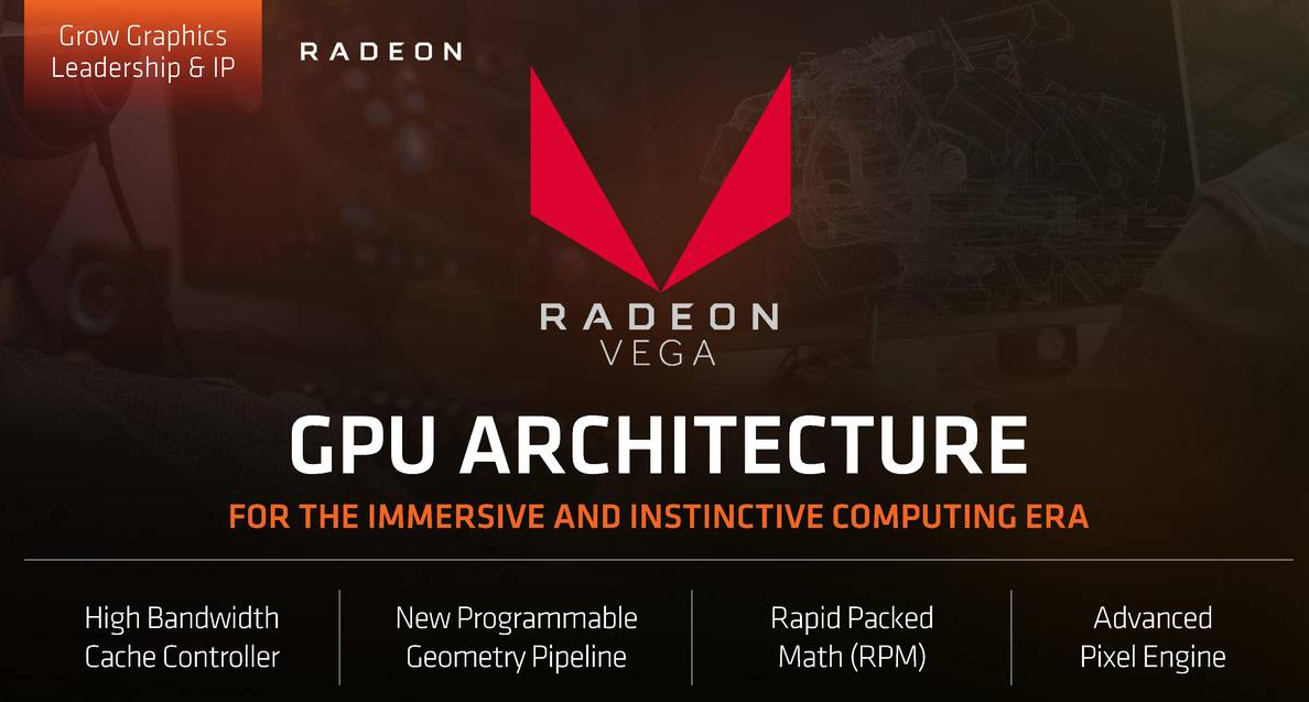 AMD Radeon RX Vega will be launched during SIGGRAPH 2017, at the end of July