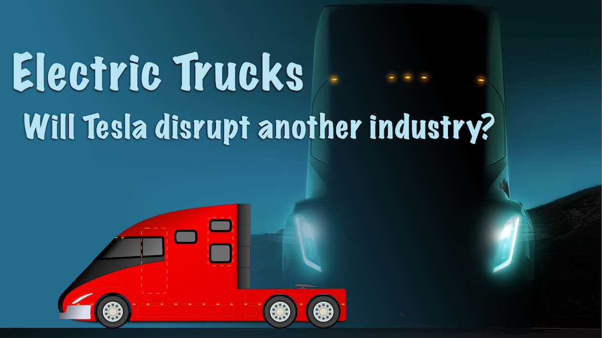 Will tesla disrupt long haul trucking tesla inc nasdaqtsla potential tesla truck image buycottarizona Gallery