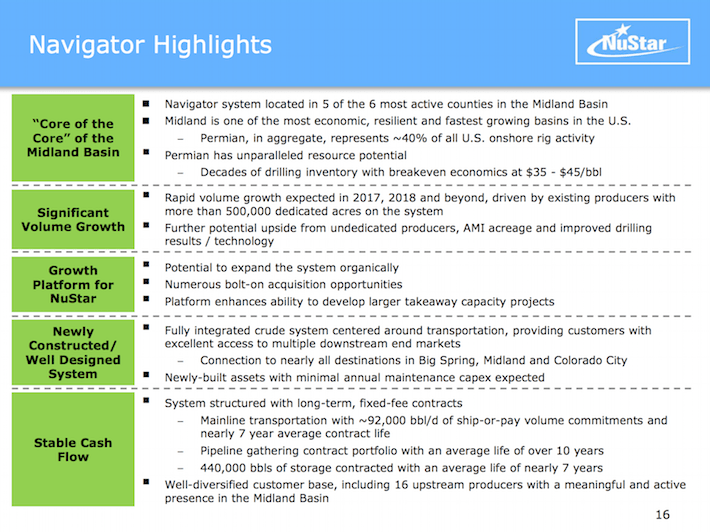 NuStar Holdings: Execution Risk In Acquisition Of Navigator Energy ...