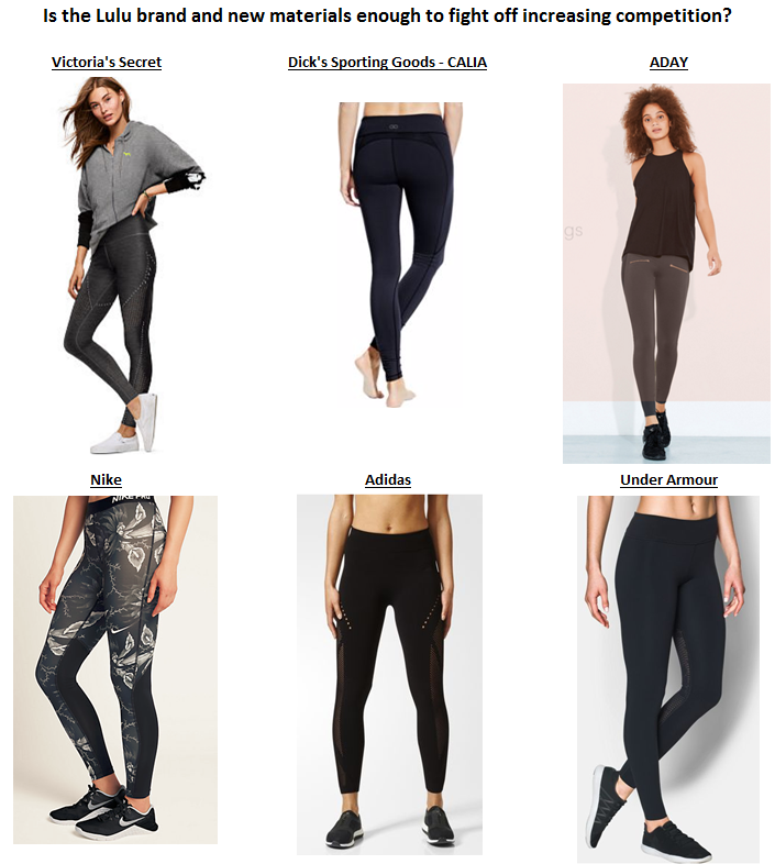 d0048a7ad3b43 Source: Victoria's Secret, Dick's Sporting Goods, ADAY, Nike, Adidas, Under  Armour