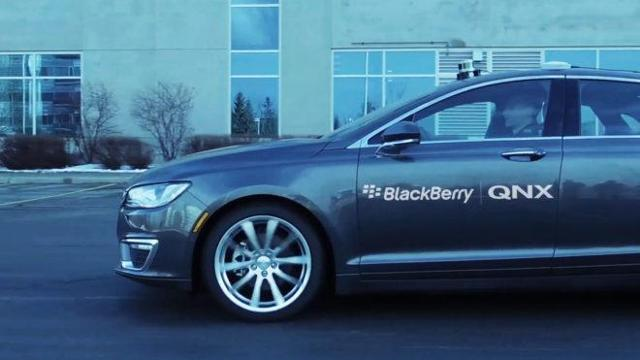 BlackBerry: Let's Start Talking About Autonomous Driving, Please!