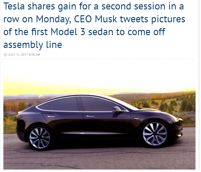 Tesla seeking alpha