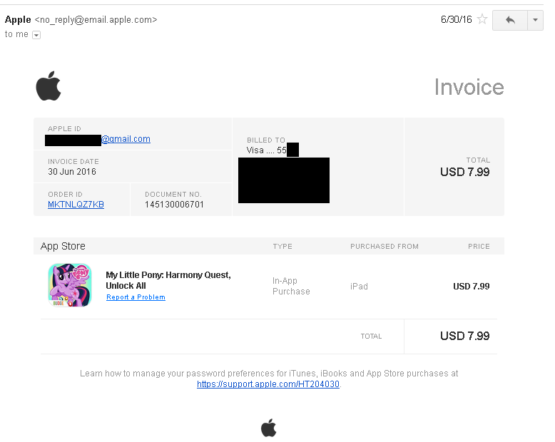 Apple Made PayPal More Attractive PayPal Holdings Inc NASDAQ - Apple app store invoice