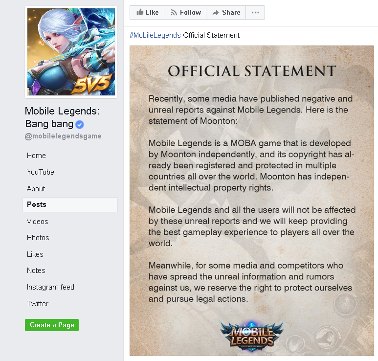 Mobile Legends' Is A Threat To Tencent's 'League Of Legends
