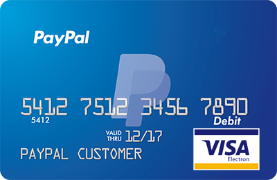 issuing a physical visa debit card can inspire these paypal cash hoarders to spend some of their money - Visa Debit Card