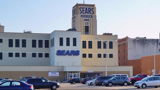 Hackensack Sears via Bing.