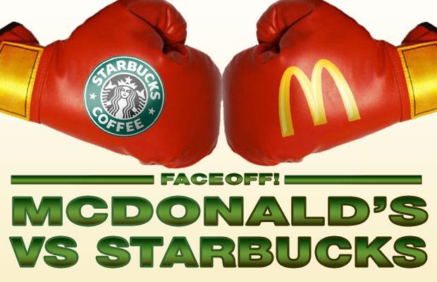 mcdonalds vs starbucks