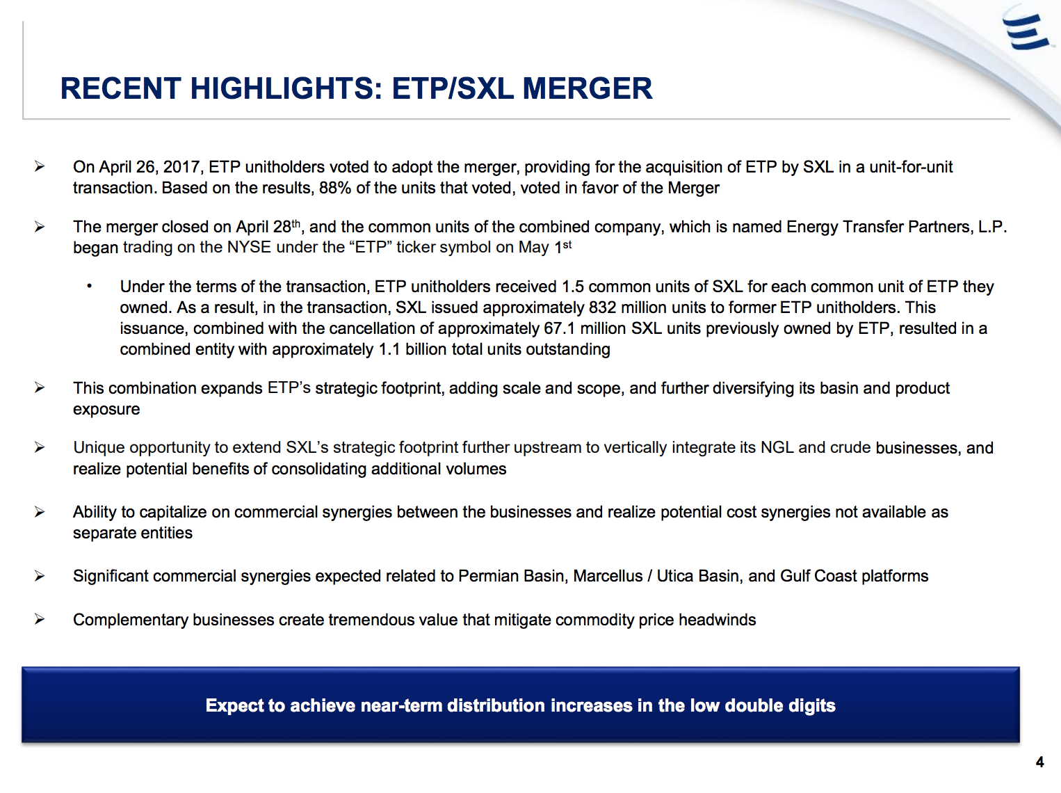 Etp Stock Quote Energy Transfer Partners 11% Yield With 15 Years Of Rising