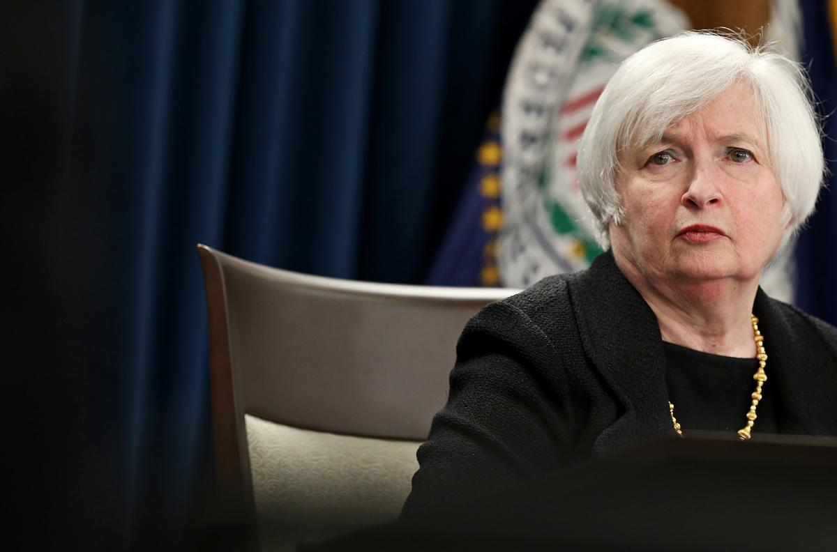 Did Janet Yellen just signal her exit from running the Fed?