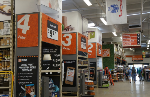 Home Depot, Inc. (The) (NYSE:HD) Trading Up - Insiders Are Selling