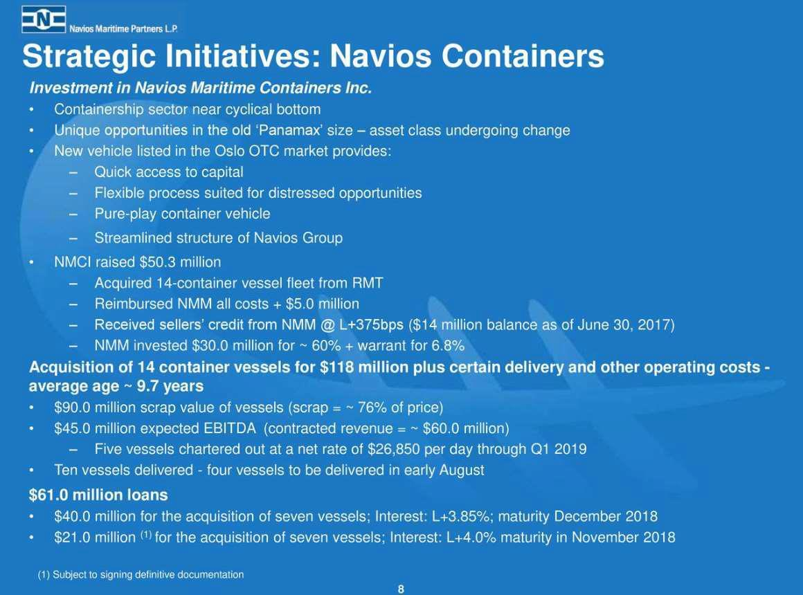 Navios Maritime Midstream Partners LP (NYSE:NAP) Announces Quarterly Earnings Results