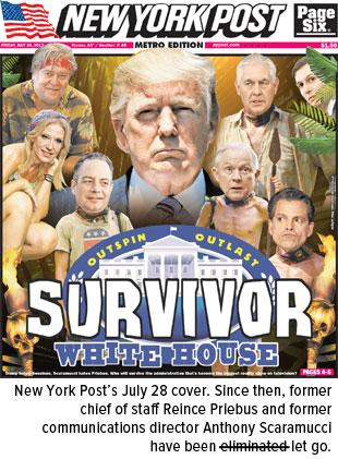 New York Post Survivor White House