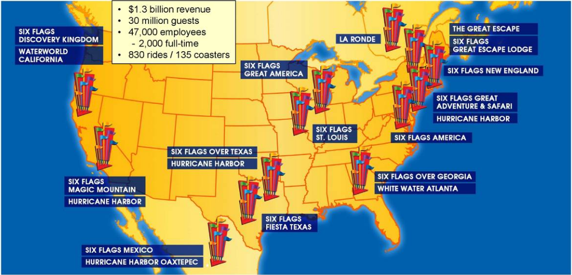 Map Of 6 Flags Great America.Six Flags Better Than Atlantic City 2 0 Six Flags Entertainment