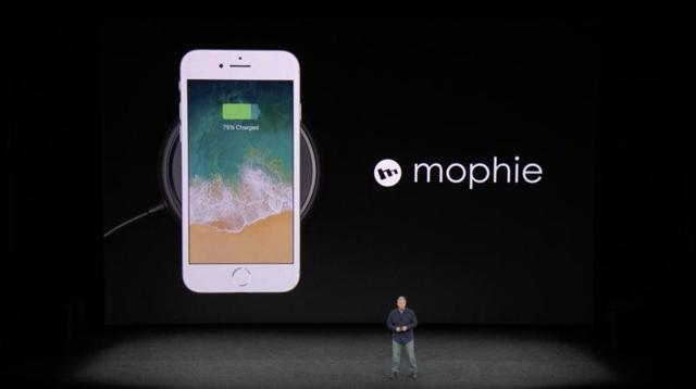 Apple iphone8 wireless charging mophie zagg