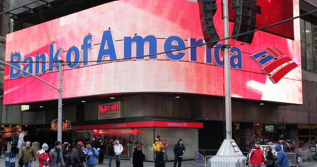 Bank of America Corporation (NYSE:BAC) Rating Lowered to Sell at BidaskClub