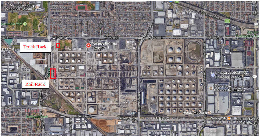 Refineries In California Map.Pbf Energy This Refinery Pure Play Is Up Over 25 Everything You