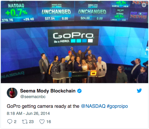 GoPro (GPRO) Rating Lowered to Neutral at Longbow Research