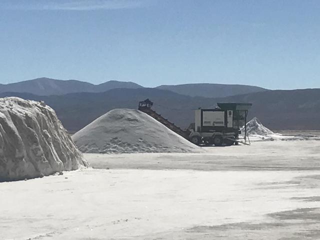 (Argentina Lithium Tour 2017 - Salt Operation in Jujuy, Argentina)