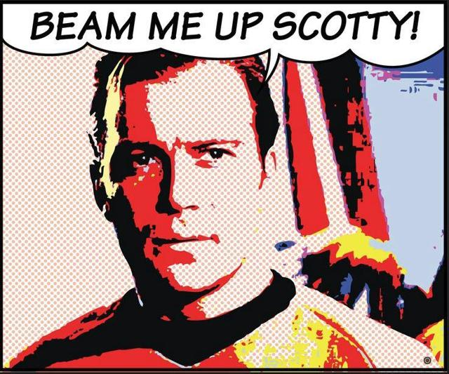 Image result for beam me up scotty