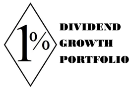 The 1% Dividend Growth Portfolio, low yield, high growth, dividends DGI