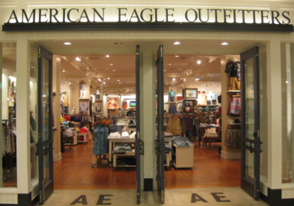 American Eagle Outfitters, Inc. (AEO) exchanged 6432343 shares actively on Wednesday