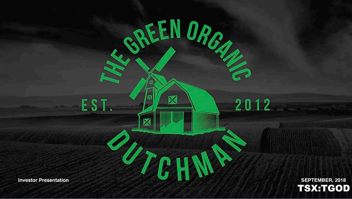 The Green Organic Dutchman This Cannabis Company Is Undervalued And