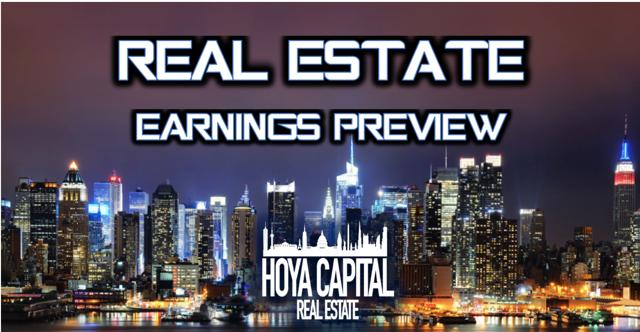 real estate earnings preview