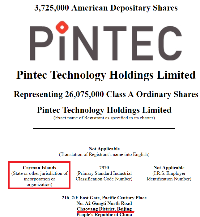 Pintec Technology IPO: Growing Revenues At 936% Year-Over
